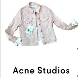 NWT Dusty Rose Denim - Acne Studios jacket